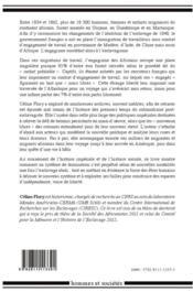De l'esclavage à la liberté forcée ; histoire des travailleurs africains engagés dans la Caraïbe française au XIXe siècle - 4ème de couverture - Format classique