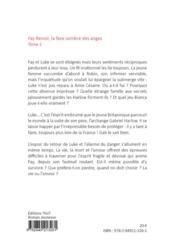 Fay Renoir t.2 ; la face sombre des anges - 4ème de couverture - Format classique