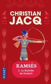 Ramses - tome 3 la bataille de kadesh - vol03 - Couverture - Format classique