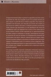 L'approvisionnement des villes portuaires en Europe du XVIe siècle à nos jours - 4ème de couverture - Format classique