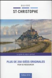 Guide Saint Christophe 2016 - Couverture - Format classique