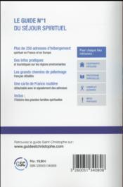 Guide Saint Christophe 2016 - 4ème de couverture - Format classique