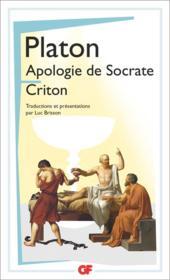Apologie de Socrate-criton - Couverture - Format classique