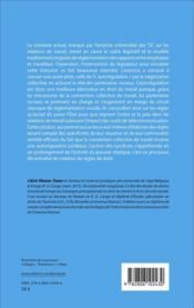 Droit du travail congolais face à l'usage des technologies de l'information et de la communication - 4ème de couverture - Format classique