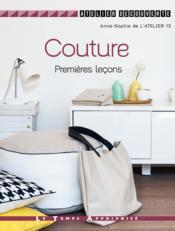 Couture premières leçons - Couverture - Format classique
