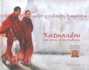 Katmandou des dieux et des hommes - Couverture - Format classique