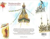 Katmandou des dieux et des hommes - 4ème de couverture - Format classique