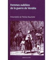 Femmes oubliées de la guerre de Vendée - Couverture - Format classique