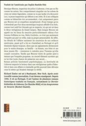 La sentinelle de Lisbonne - 4ème de couverture - Format classique