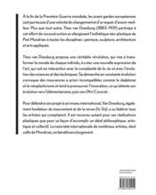 Theo van Doesburg - 4ème de couverture - Format classique