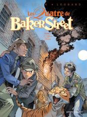 Les quatre de Baker Street T.7 ; l'affaire Moran - Couverture - Format classique