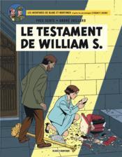 Blake Et Mortimer T.24 ; Le Testament De William S. - Couverture - Format classique
