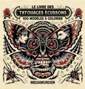 Le livre des tatouages écussons ; 100 modèles à colorier - Couverture - Format classique