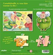 Cornebidouille ; 2 puzzles pour moustiques à plumes ! - 4ème de couverture - Format classique