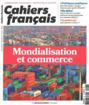 Cahiers français T.407 ; mondialisation et commerce extérieur - Couverture - Format classique