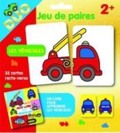 Les véhicules ; pochette duo ; jeu de paires - Couverture - Format classique