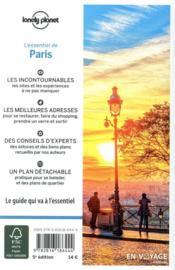 Paris (5e édition) - 4ème de couverture - Format classique