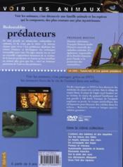 Redoutables prédateurs - Couverture - Format classique