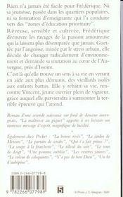 La Maitresse Au Piquet - 4ème de couverture - Format classique