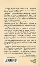 Léon le grand - 4ème de couverture - Format classique