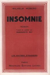 Insomnie - Couverture - Format classique