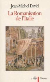 La romanisation de l'italie - Couverture - Format classique