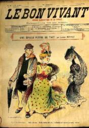 Le bon vivant n°347 - Une épouse pleine de tact - Couverture - Format classique