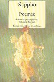Poèmes - Intérieur - Format classique