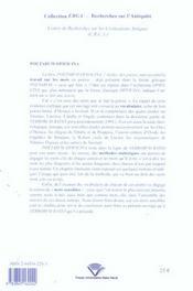 <i>poetarvm opificina</i>. l'atelier des poetes - 4ème de couverture - Format classique