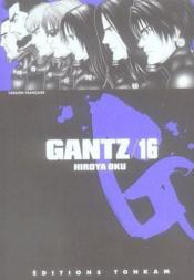 Gantz T.16 - Couverture - Format classique