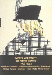 Design des wiener werkstatte. les ateliers viennois 1903-1932 - Intérieur - Format classique