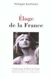 Eloge de la france - Intérieur - Format classique