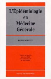 Epidemiologie en medecine generale - Couverture - Format classique