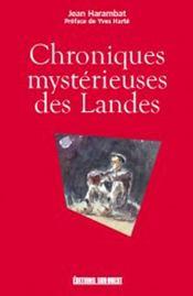 Chroniques mystérieuses des Landes - Intérieur - Format classique