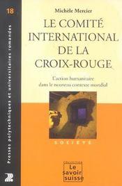 Le comite international de la croix rouge 18-action humanitaire dans le nouveau - Intérieur - Format classique