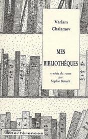 Mes bibliothèques - Couverture - Format classique