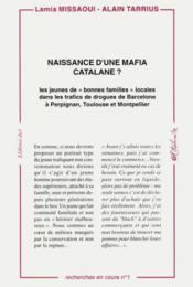 Naissance d'une mafia catalane? - Couverture - Format classique