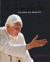 Benedictus ; une année avec Benoît XVI - Intérieur - Format classique