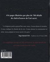 Benedictus ; une année avec Benoît XVI - 4ème de couverture - Format classique