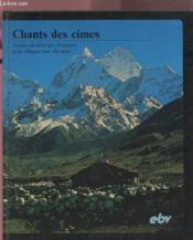 Chants des cimes - Couverture - Format classique