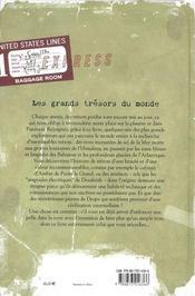 Les grands trésors du Monde ; histoire et légende - 4ème de couverture - Format classique