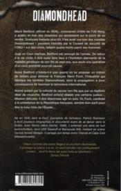 Diamonhead, le missile de tous les dangers - 4ème de couverture - Format classique