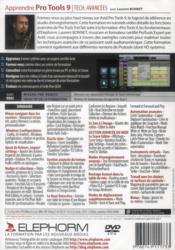 Apprendre Pro Tools 9 ; techniques avancées - 4ème de couverture - Format classique