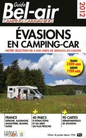 Guide bel air ; évasion en camping-car 2012 - Couverture - Format classique