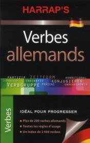 Verbes allemands - Couverture - Format classique