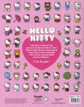Hello Kitty ; Cherche Et Trouve - 4ème de couverture - Format classique