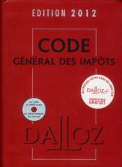 telecharger Code general des impots (edition 2012) livre PDF en ligne gratuit