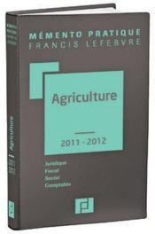 Mémento agriculture (édition 2013/2014) - Couverture - Format classique