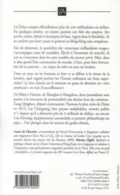 Chine ; les nouveaux milliardaires rouges - 4ème de couverture - Format classique