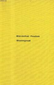 Stalingrad. - Couverture - Format classique
